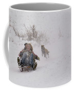 Sled Before The Dogs? Coffee Mug