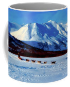 Sledding In Russia Coffee Mug