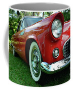 Sleek Red Coffee Mug