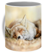 Sleeping Beauty -red Fox In Rest Coffee Mug