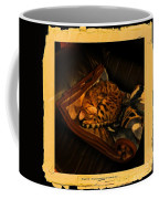 Sleeping Cat Digital Painting Coffee Mug