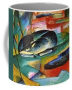 Sleeping Deer 1913 Coffee Mug