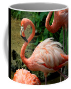 Sleeping Flamingo Coffee Mug