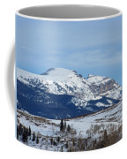 Sleeping Indian Mountain Coffee Mug