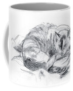 Sleeping Jago Coffee Mug by Brandy Woods