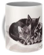 Sleeping Kittens Coffee Mug