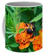 Sleepy Bumblebee Coffee Mug