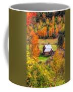 Sleepy Hollow Farm In Fall Coffee Mug