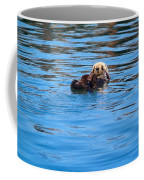 Sleepy Otter Coffee Mug