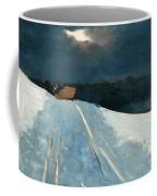 Sleigh Ride Coffee Mug by Winslow Homer