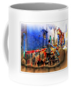Slice Of Life Milkman Blue City Houses India Rajasthan 1a Coffee Mug