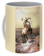 Slick Rider Coffee Mug by Charles Russell
