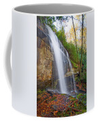 Slick Rock Falls, A North Carolina Waterfall In Autumn Coffee Mug