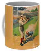 Sliding Home 1897 Coffee Mug