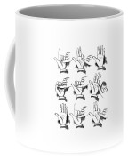 Slight Of Hand Coffee Mug