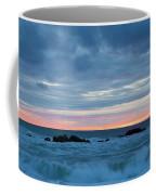 Sliver Of Pink At Moonstone Beach Coffee Mug
