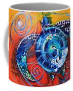 Slopical Tropical Sea Turtle Coffee Mug