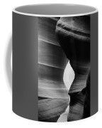 Slot Canyon - Monochrome Coffee Mug