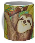 Sloth And Frog Coffee Mug