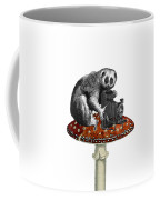 Slow Loris With Antique Camera Coffee Mug