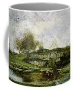 Sluice In The Optevoz Valley Coffee Mug