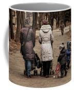Small Child Looking Backward Coffee Mug