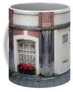 Small Door And Flower Box  Amsterdam Coffee Mug