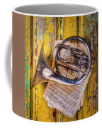 Small French Horn Coffee Mug