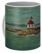 Small Island Lighthouse Coffee Mug