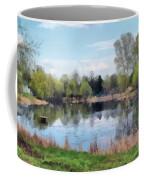 Small Pond In Tomilino Coffee Mug