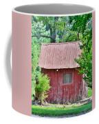 Small Red Barn - Lewes Delaware Coffee Mug