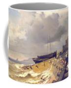 Small Seaport Near St. Malo In The Bretagne Coffee Mug