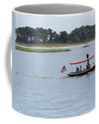Small Stream Boat Coffee Mug