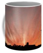 Small Town Sunset Coffee Mug