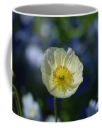Small White Poppy Coffee Mug