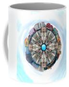 Small World In The Clouds Coffee Mug