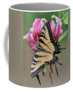 Smelling The Asiatic Lilies Coffee Mug