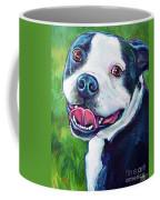 Smiling Boston Terrier Coffee Mug