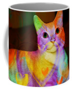 Smiling Kitty Coffee Mug