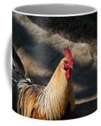 Smiling Rooster Coffee Mug