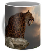 Smilodon Californicus Lookout Coffee Mug