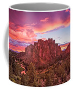 Smith Rock Sunset Coffee Mug