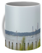 Smoke Stacks In The Background Coffee Mug