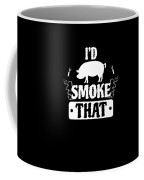 Smoke That Pig Griller Bbq Barbecue Gift Coffee Mug