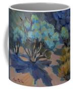 Smoke Tree In La Quinta Cove Coffee Mug