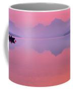 Smoked Out On Lake Mcdonald Coffee Mug