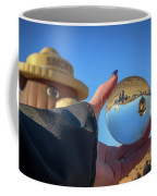 Smokey Bear Balloon In The Crystal Ball Coffee Mug