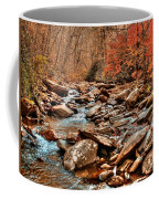 Smokey Mountain Streams And Fall Foilage 2 Coffee Mug