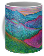 Smoky Mountain Abstract Coffee Mug