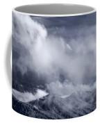 Smoky Mountain Vista In B And W Coffee Mug